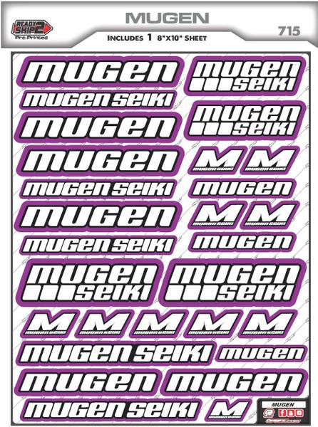 Mugen Seiki Ready2Ship Stickers