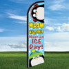 Warm Welcomes Have an Ice Day Penguin Widebody