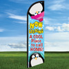 Penguin: A Cool Place to Call Home Widebody Windleaser 24/7 Flag Only