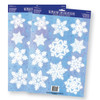 Snowflake Glass Magnets