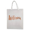 Welcome Rosegold Gift Bags