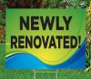 "Newly Renovated!-18""x24""Sign- Coastal Waves Theme"