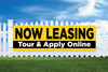 3' x 10' Lease Online - Tour & Apply Online Banner