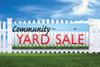 2' x 6' Community Yard Sale Banner
