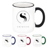 White Two-Tone Mug - 11 oz.
