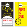 Rent Due Reminder Door Hangers