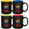 Full Color 2-Tone Matte Finish Ceramic Mug 11 oz