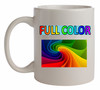Full Color Budget White Mug - 11 oz.