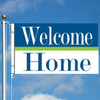 3' x 5' Cheerful Welcome Home Flag