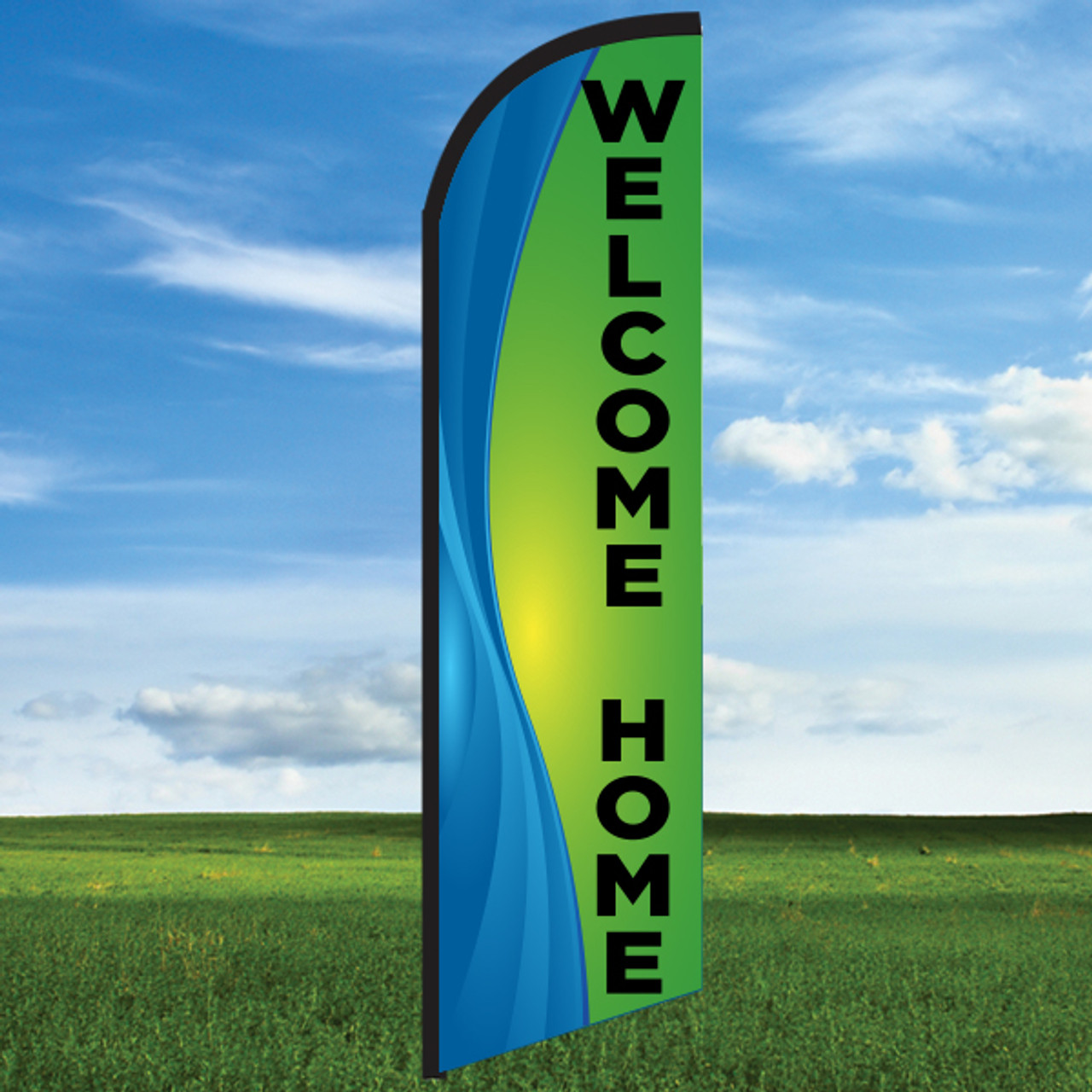 Coastal Waves: Welcome Home-Windleasers 24/7 Widebody Flag