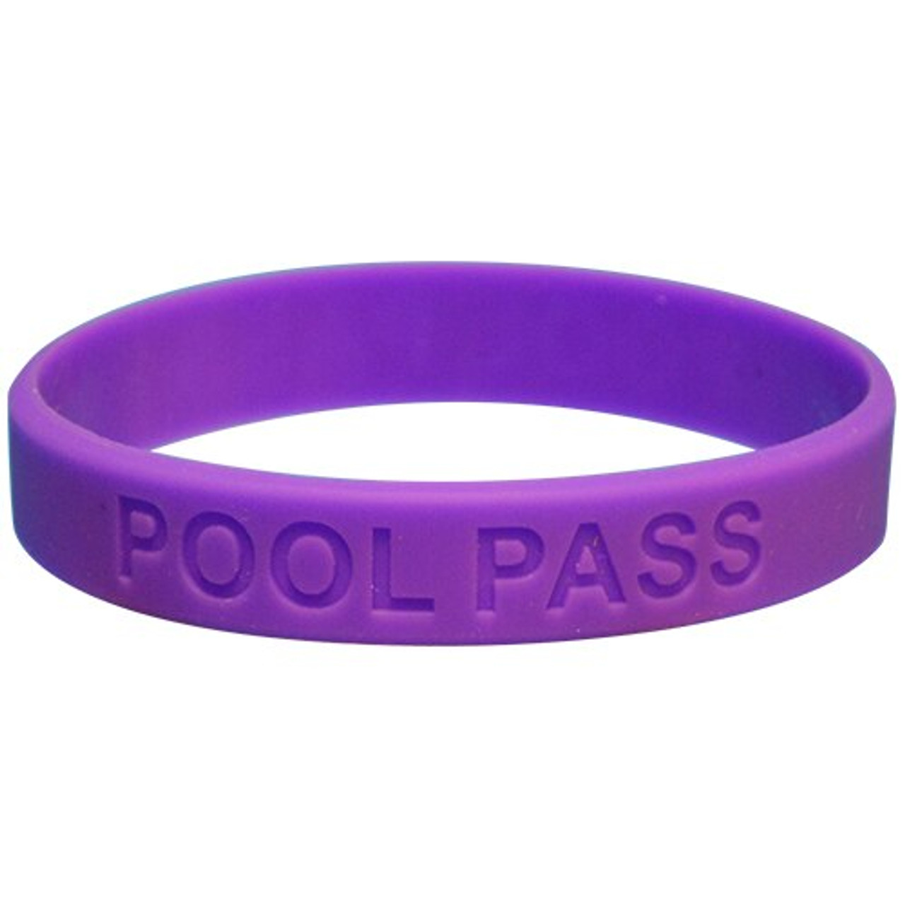 Adult Silicone Pool Pass (Purple)
