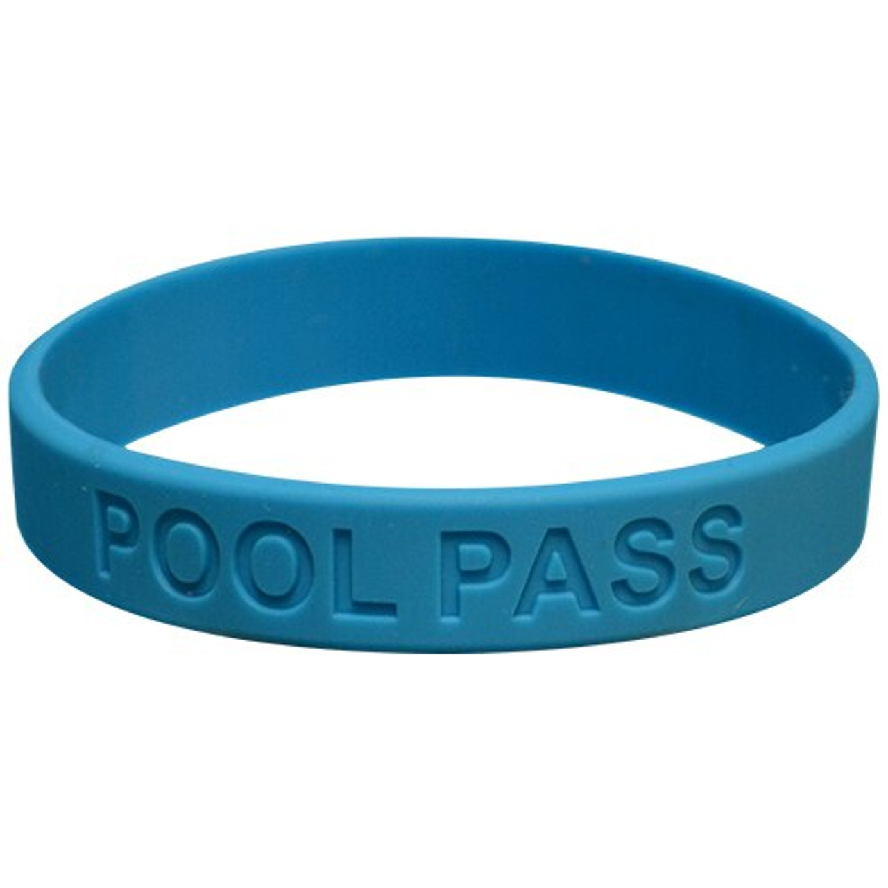Adult Silicone Pool Pass (Blue)