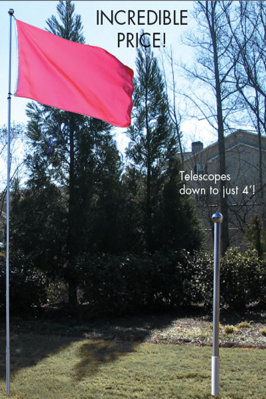 16' Budget Fiberglass Flagpole