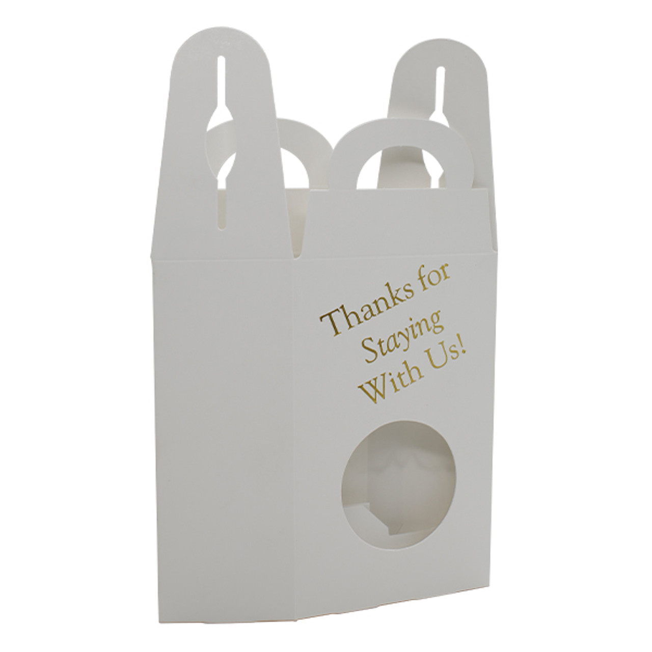 Window Tote  Thanks For Staying With Us