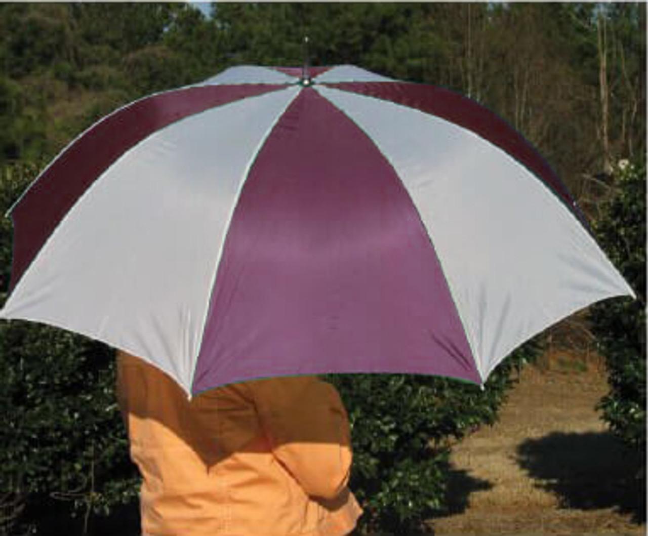 Burgundy Golf Umbrellas -Keep prospects dry