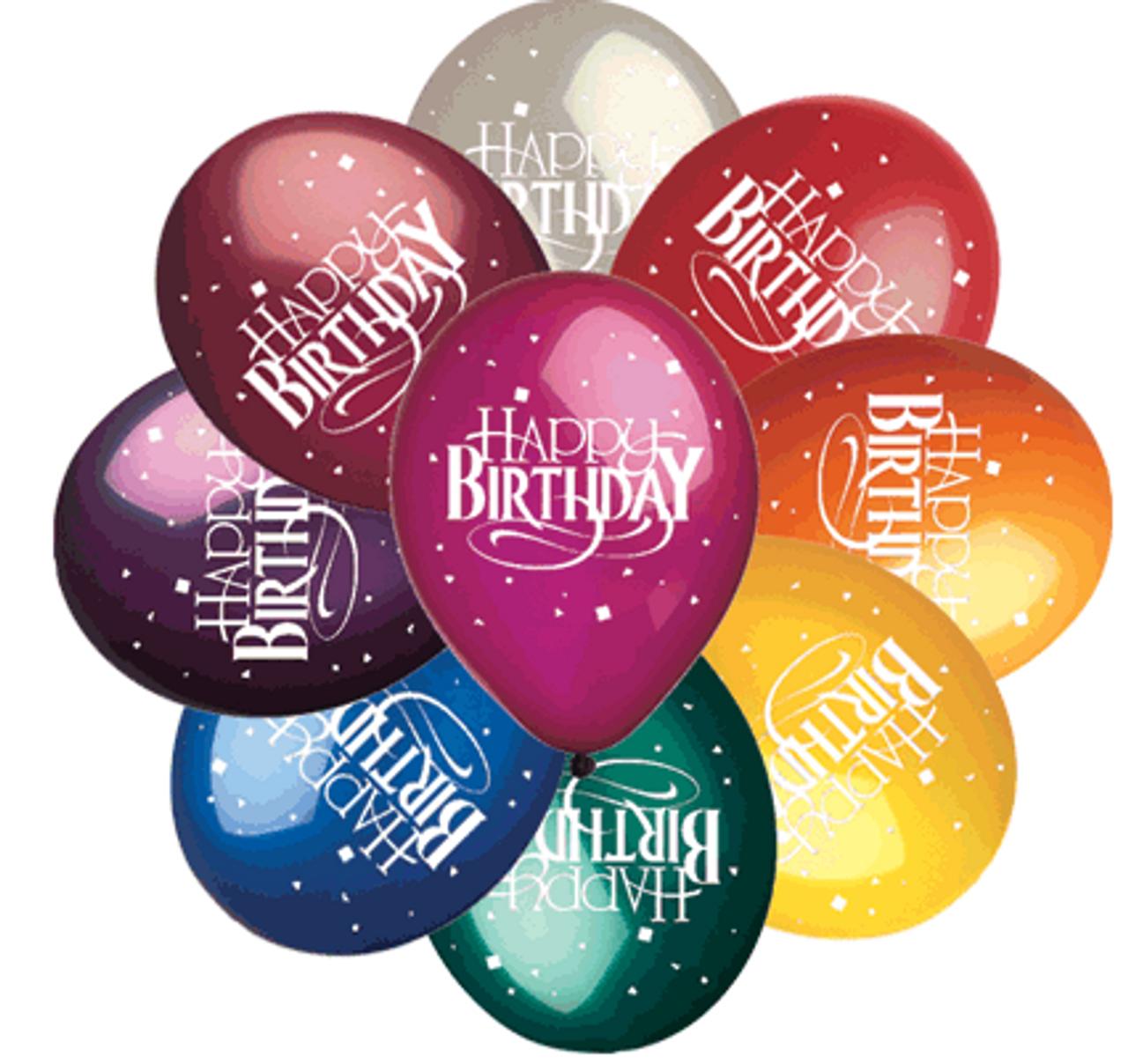 "12"" Birthday Assortment"