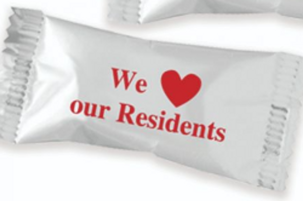 We Love Our Residents Mints