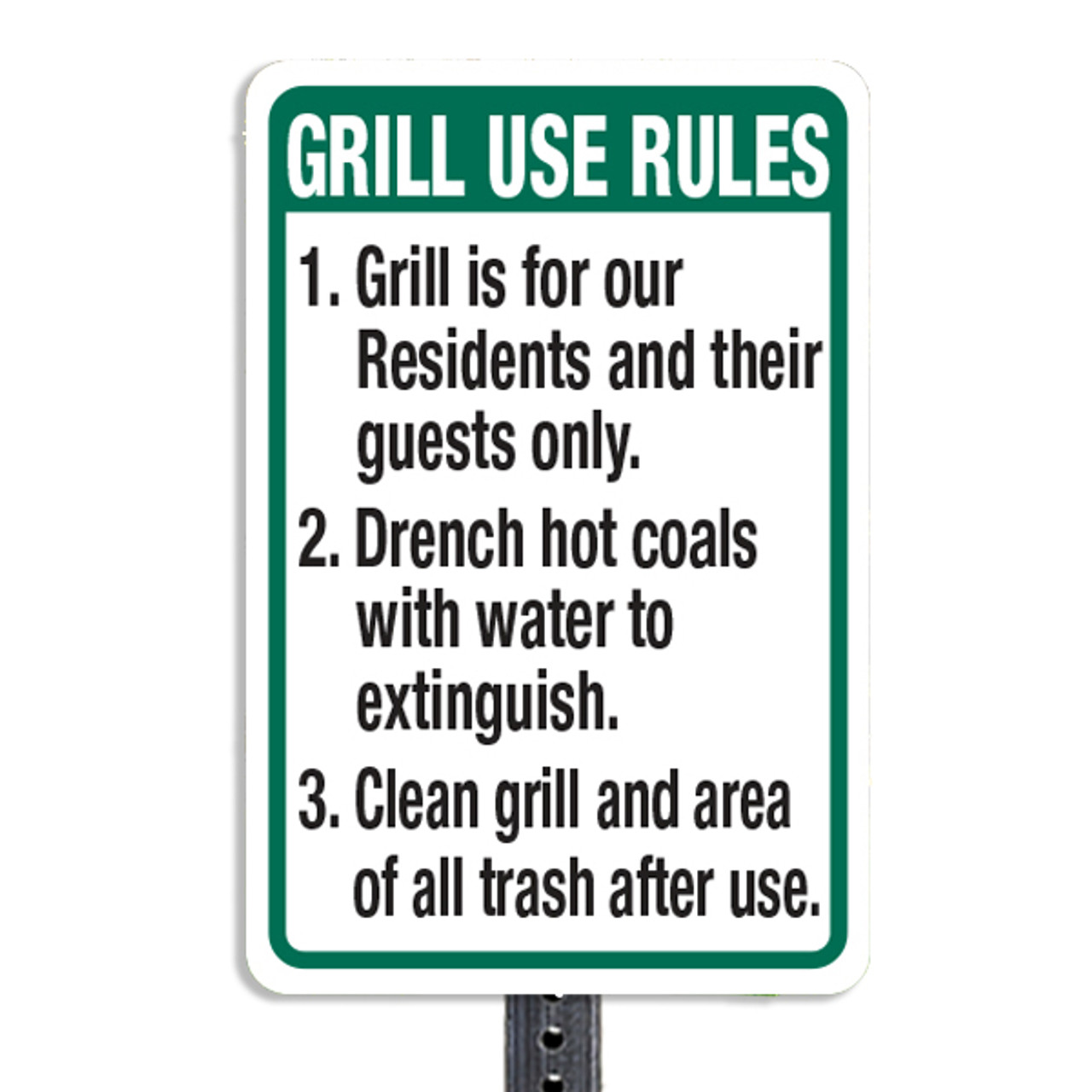 Grill Station Trash Kit