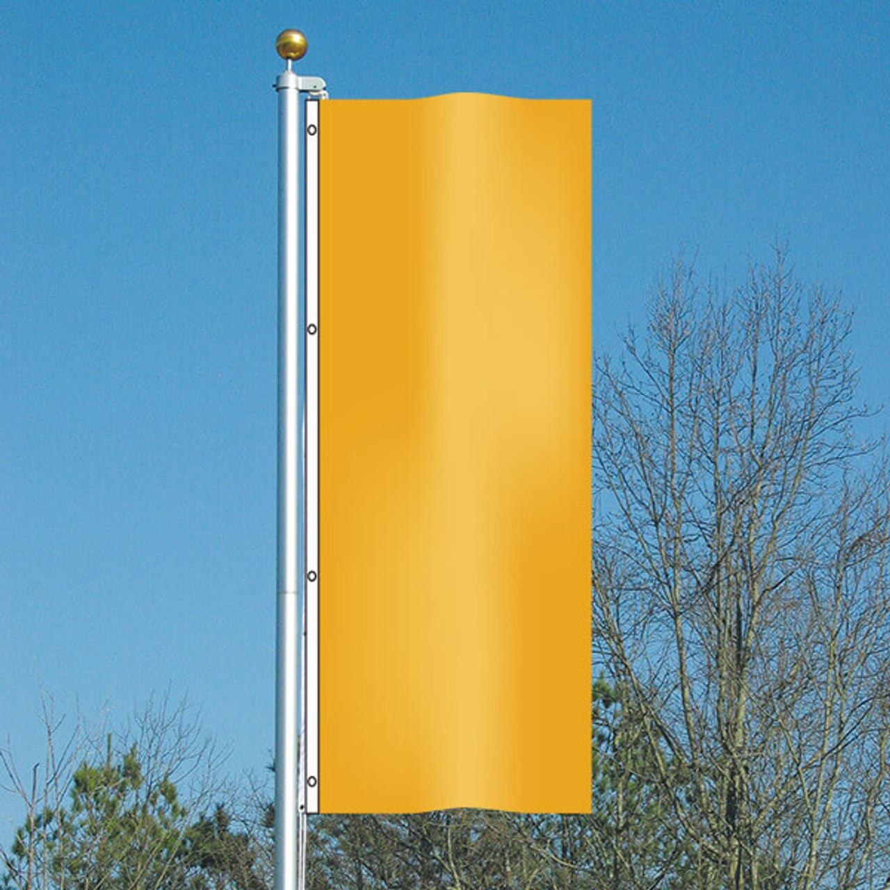 3' x 8' Vivacity Vertical Flag - Golden Waves