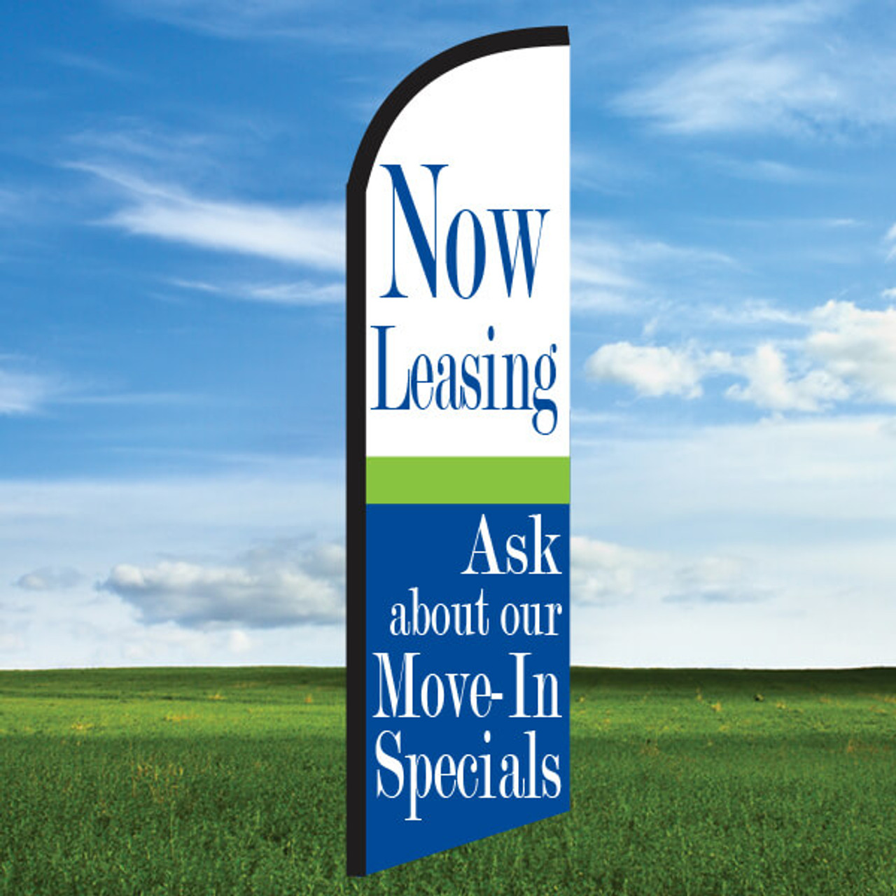 Cheerful: Now Leasing/Ask About Our Move-in Specials- Windleasers 24/7 Widebody Flag