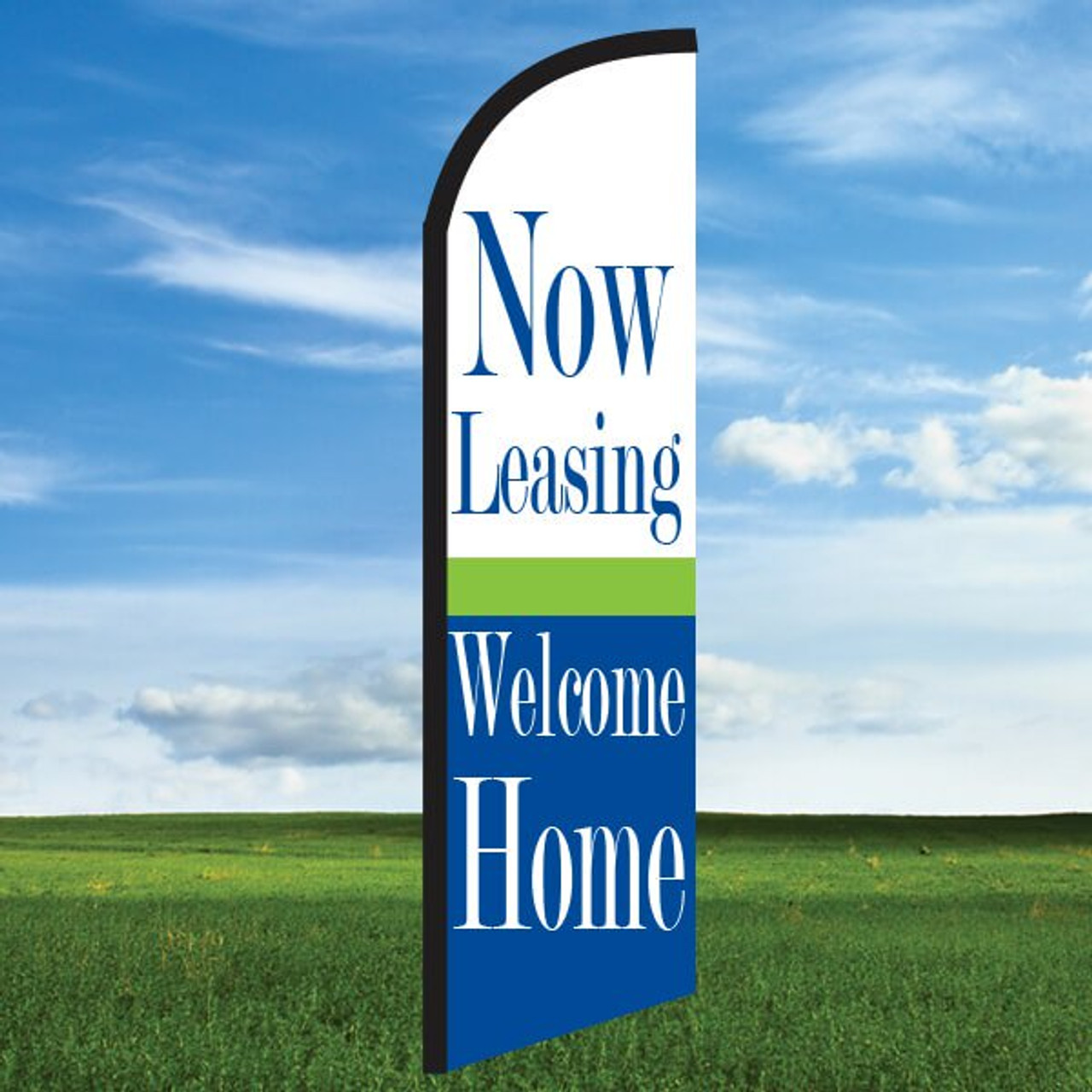 Cheerful: Now Leasing/Welcome Home- Windleasers 24/7 Widebody Flag
