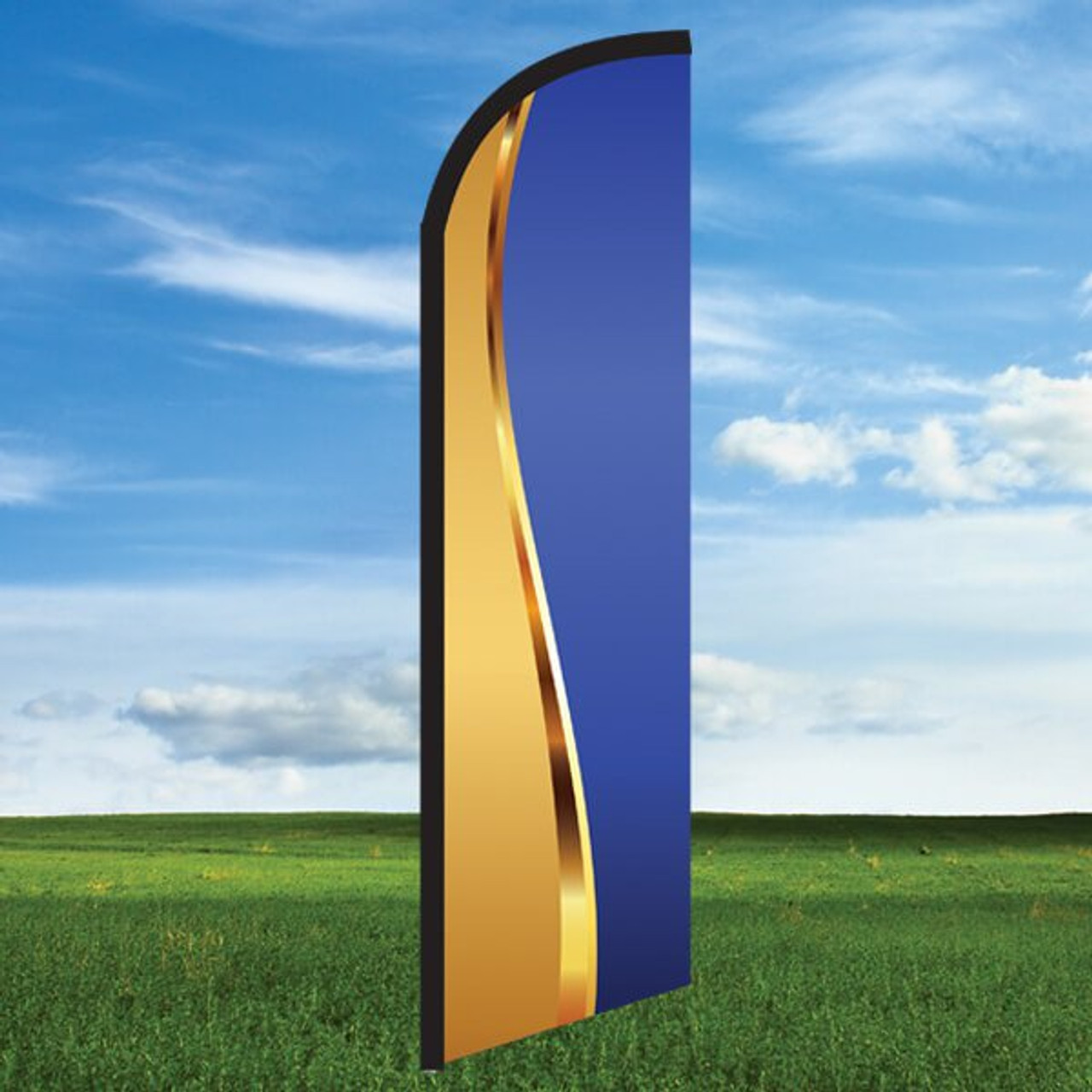 Goldness Gracious Blue- Windleasers 24/7 Widebody Flag Only