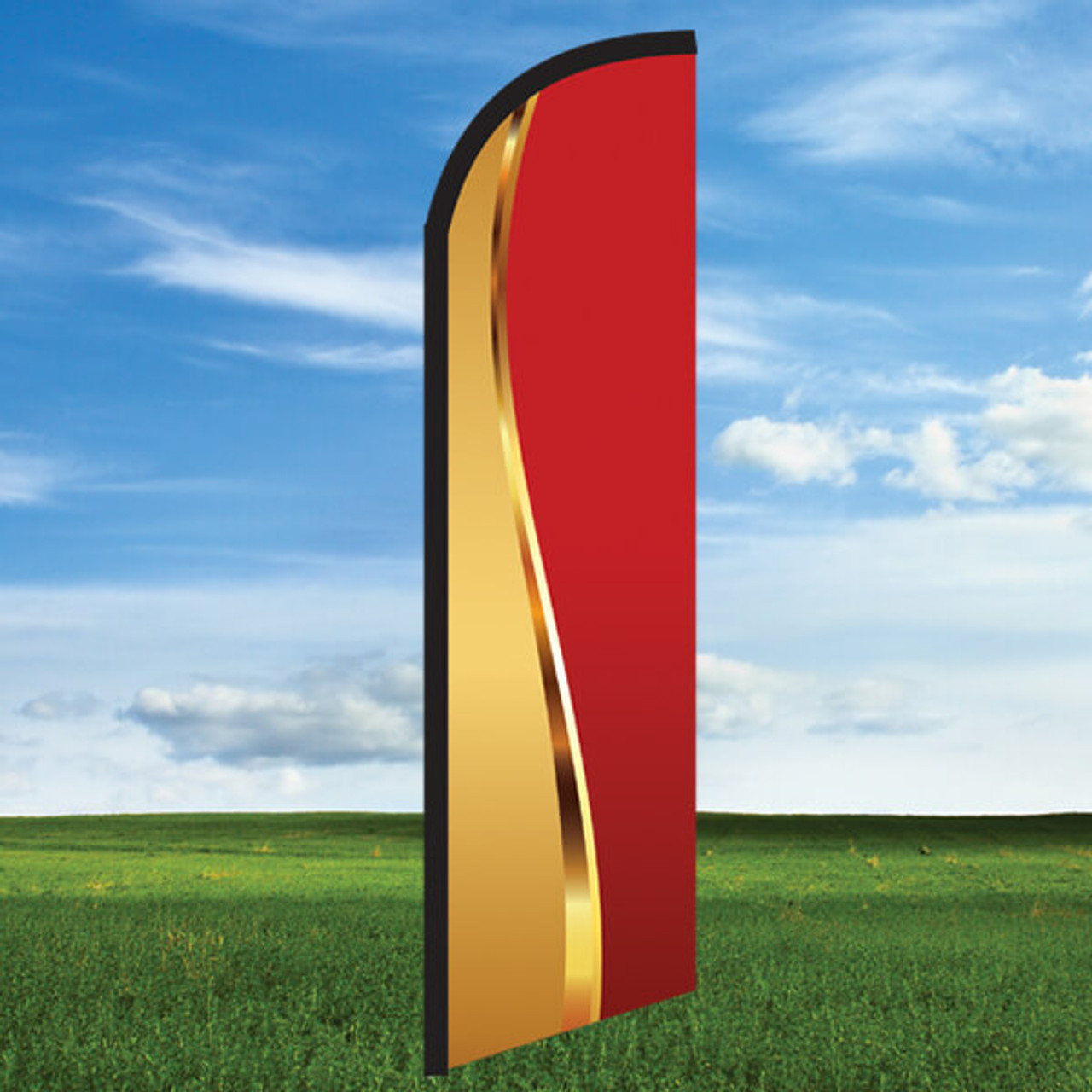 Goldness Gracious Red- Windleasers 24/7 Widebody Flag Only