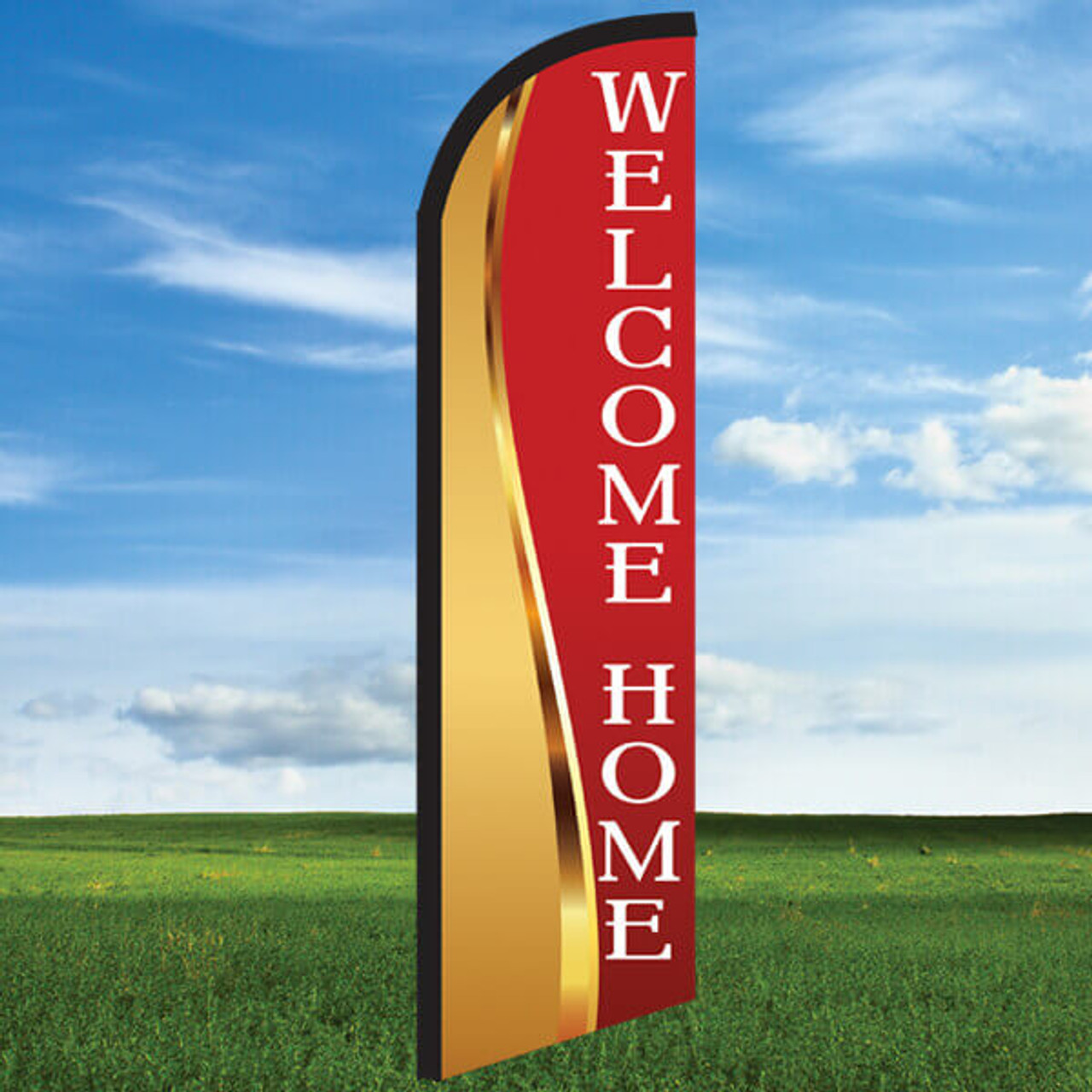 Goldness Gracious: Welcome Home- Windleasers 24/7 Widebody Flag