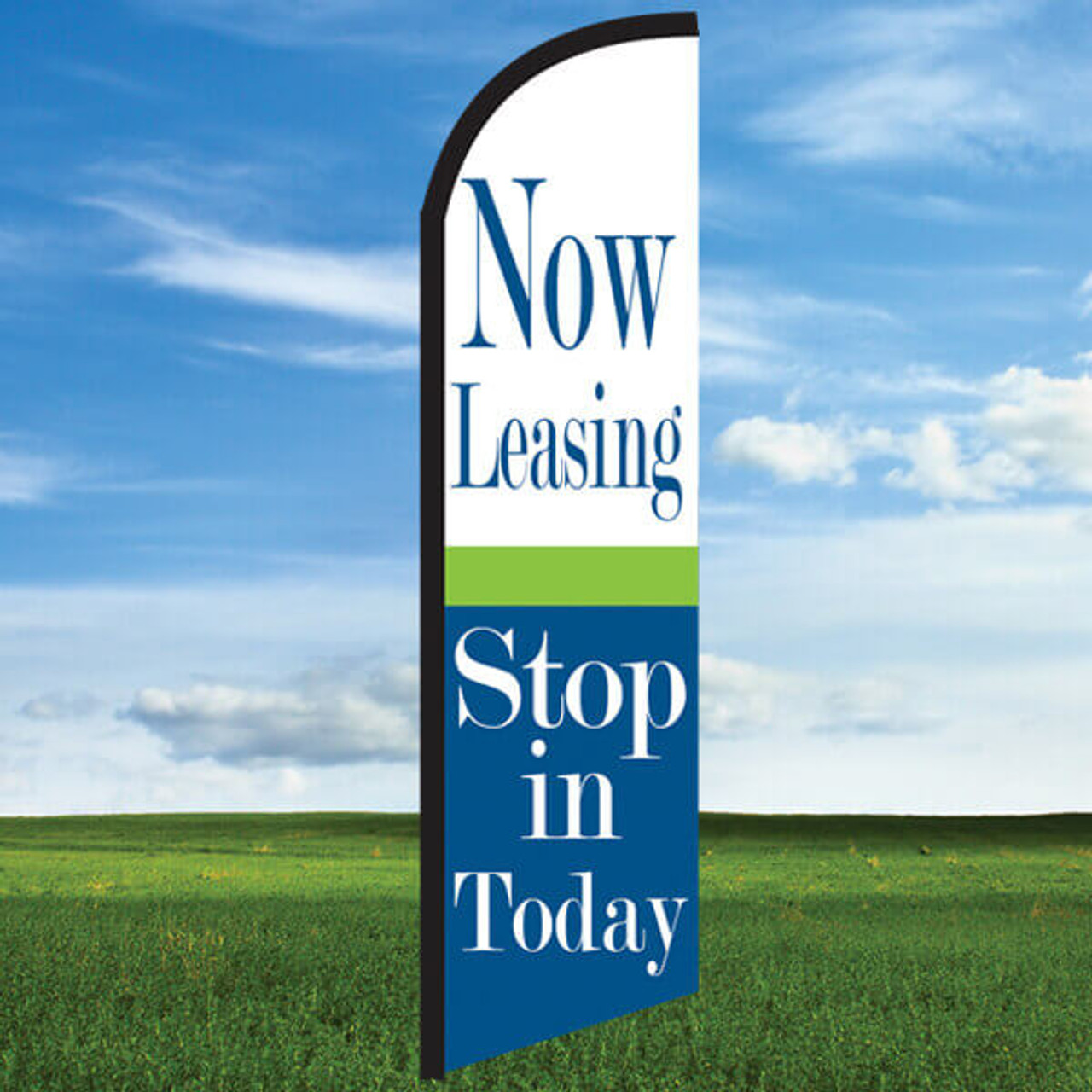Widebody Flag : Cheerful Now Leasing/Stop In Today