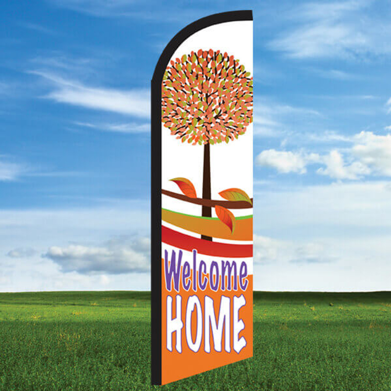 Autumn: Welcome Home- Windleasers 24/7 Widebody Flag