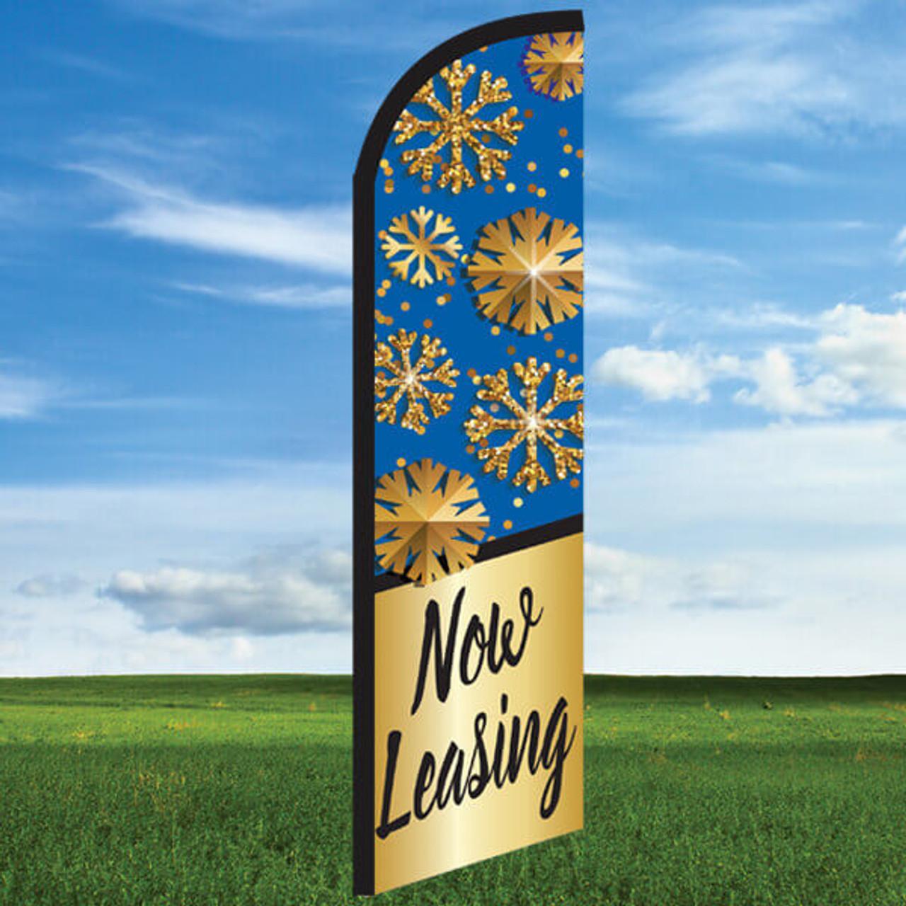 Snowflake: Now Leasing-Windleasers 24/7 Widebody Flag