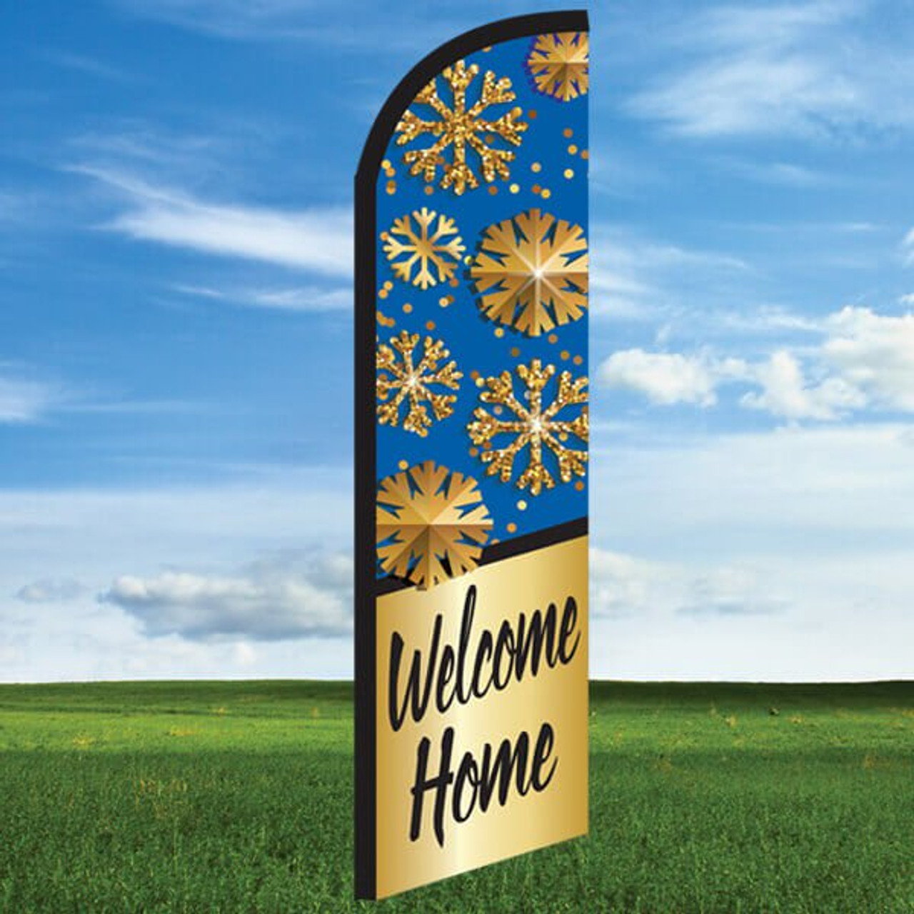 Snowflake: Welcome Home- Windleasers 24/7 Widebody Flag