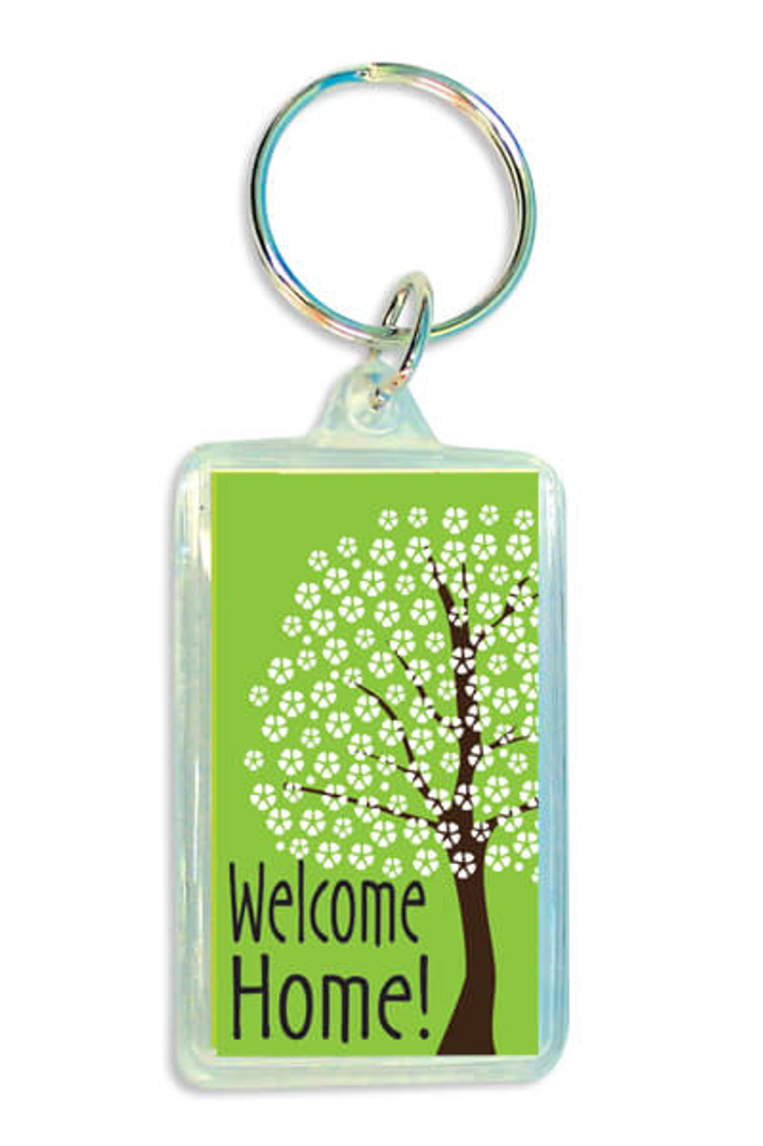 Flourish Digital Acrylic Keytag