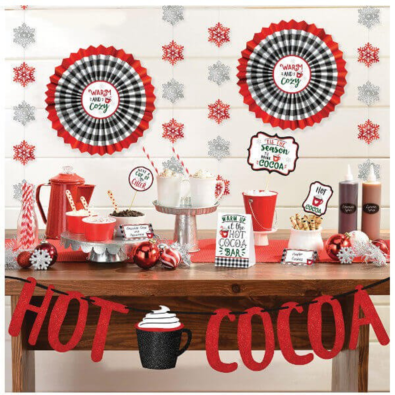 Hot Cocoa 23 pc. Decor Kit