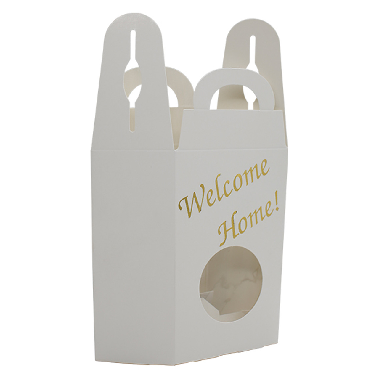 Window Tote  Welcome Home