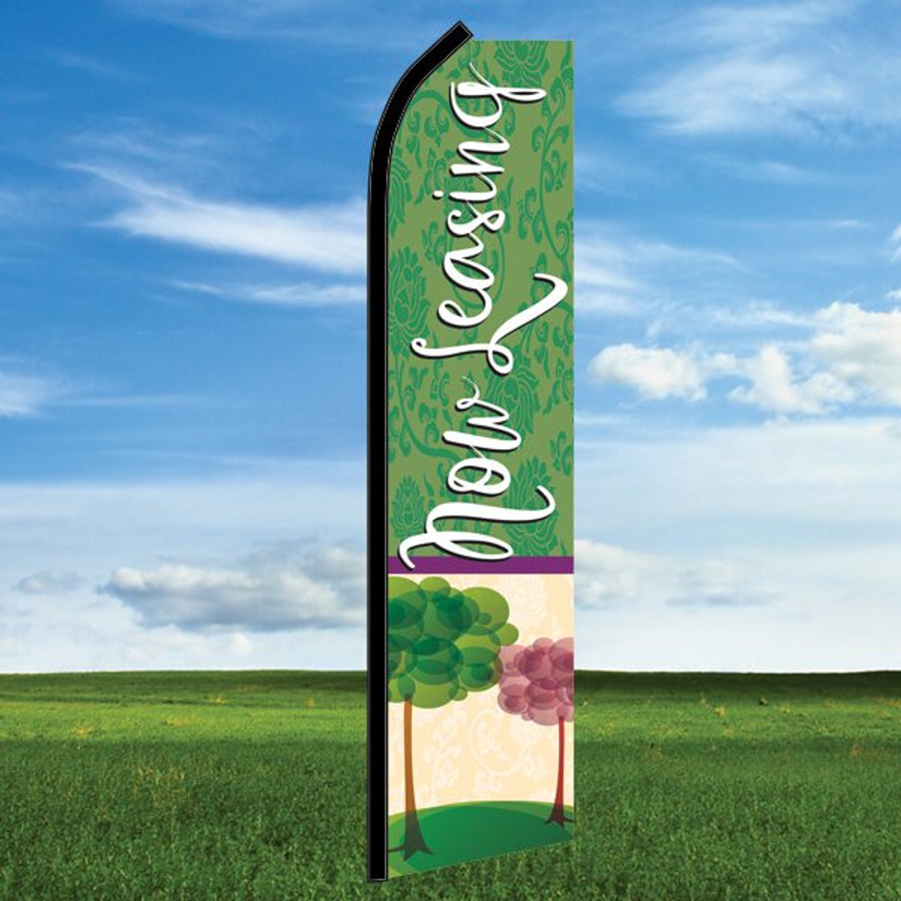 Seasons: Now Leasing- Windleaser Classic Flag Only