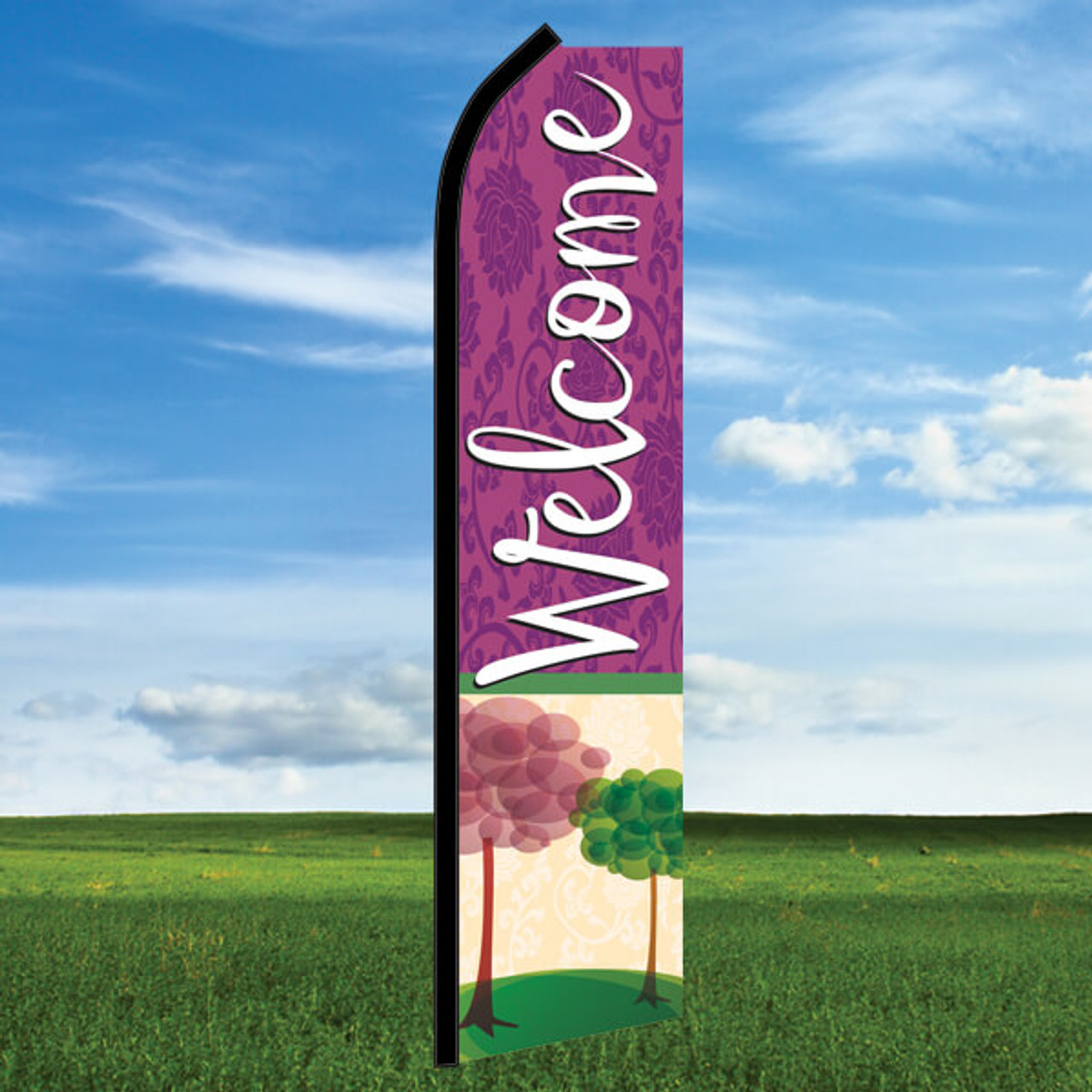 Seasons: Welcome- Windleaser Classic Flag Only