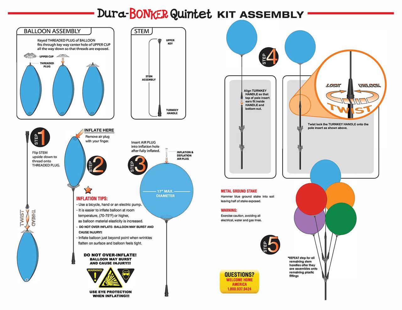 Dura-Bonker Single Kit - ITEM#: DBS05