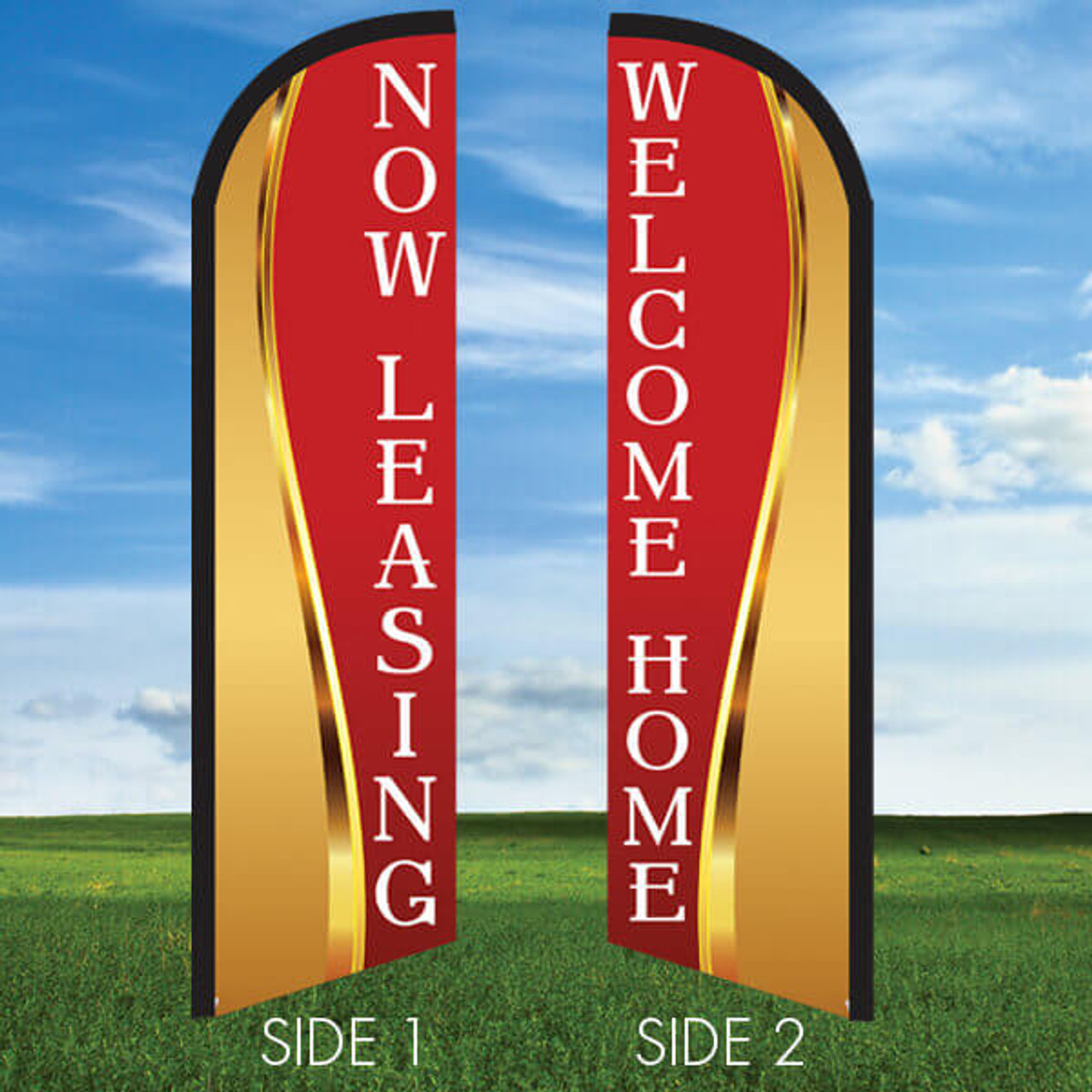 Goldness Gracious Two-Sided Flag Only Windleasers 24/7 Widebody
