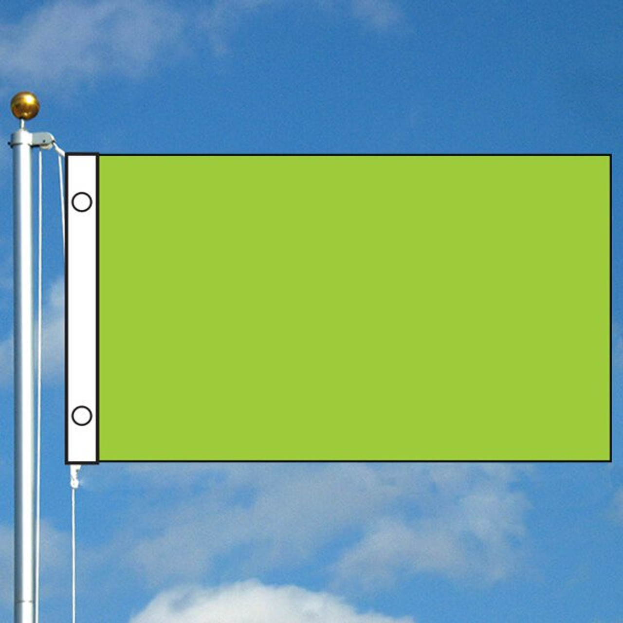 3' x 5' Solid Color Flag - Neon Green