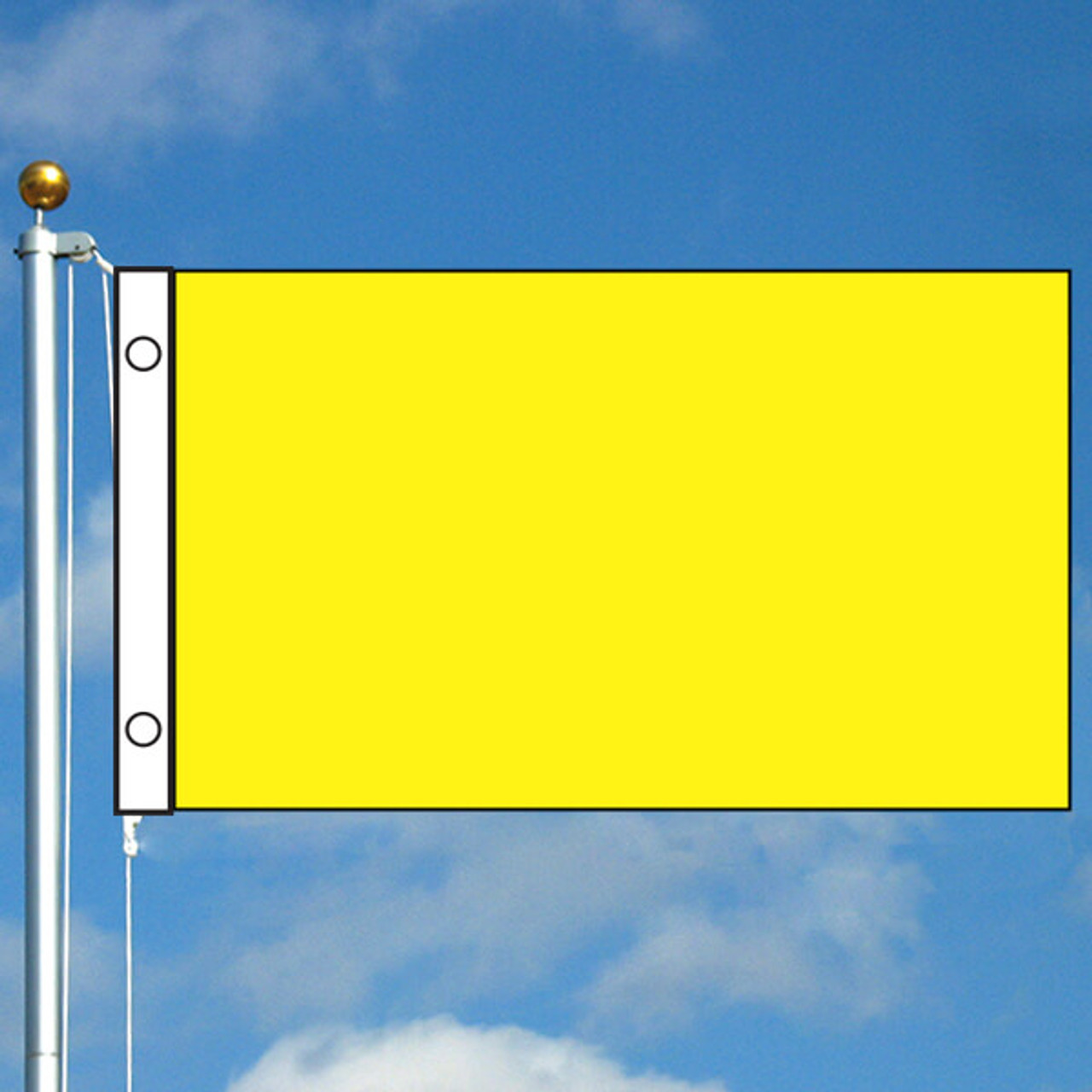 3' x 5' Solid Color Flag - Yellow