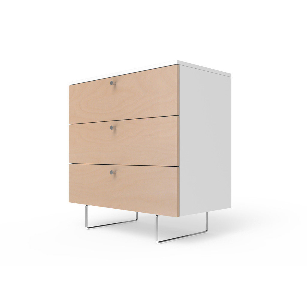 "Alto 34"" wide dresser in birch"