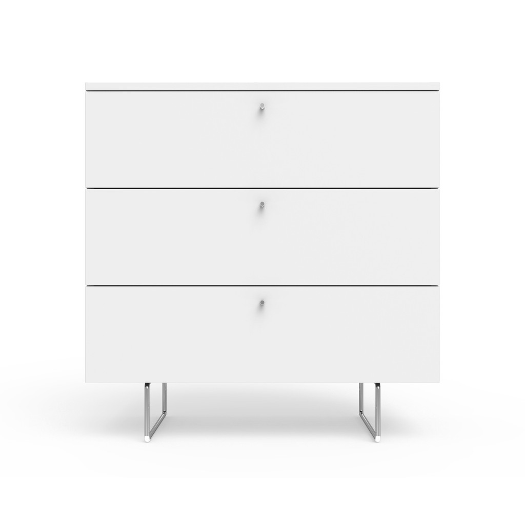 "Alto 34"" wide dresser in white"