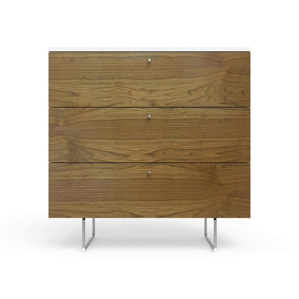 """Alto 34"""" wide dresser in walnut"""