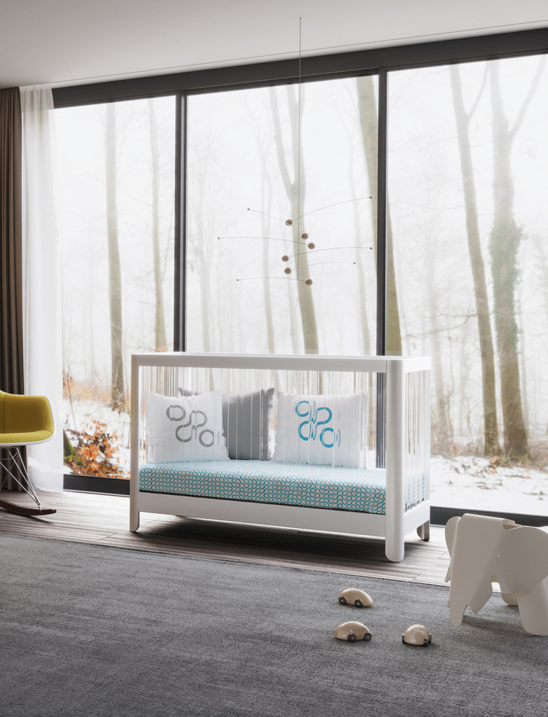 Reverie Crib with Join Bedding