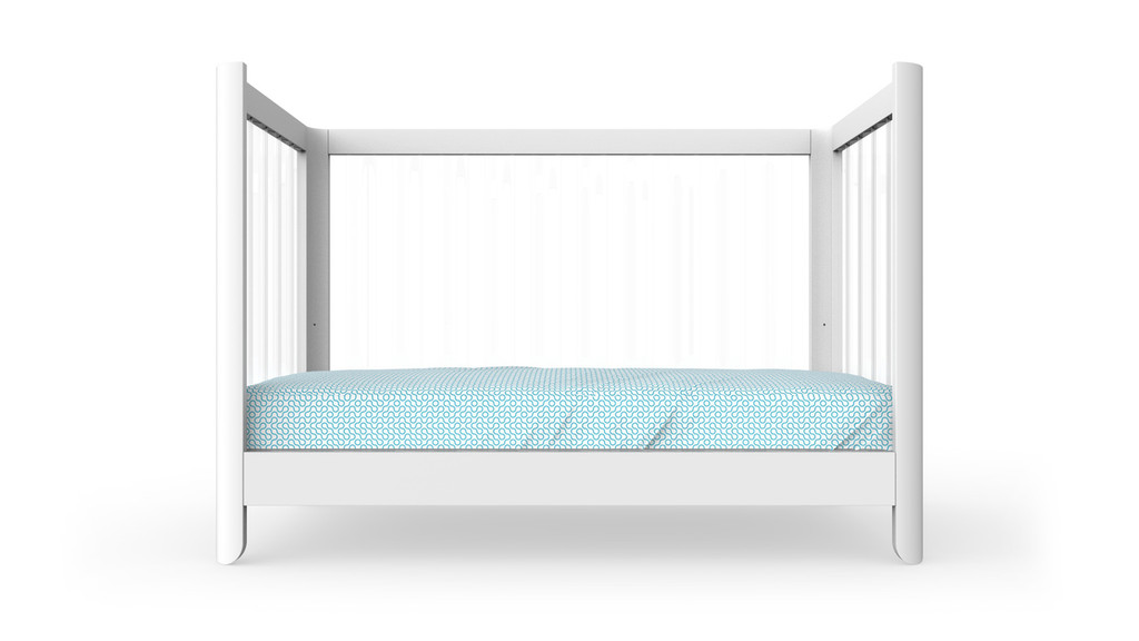 Reverie Crib shown converted for Daybed