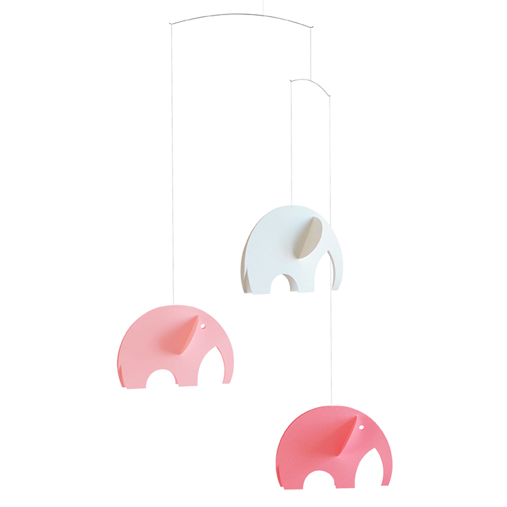 Flensted Mobiles  - Olephant Pink