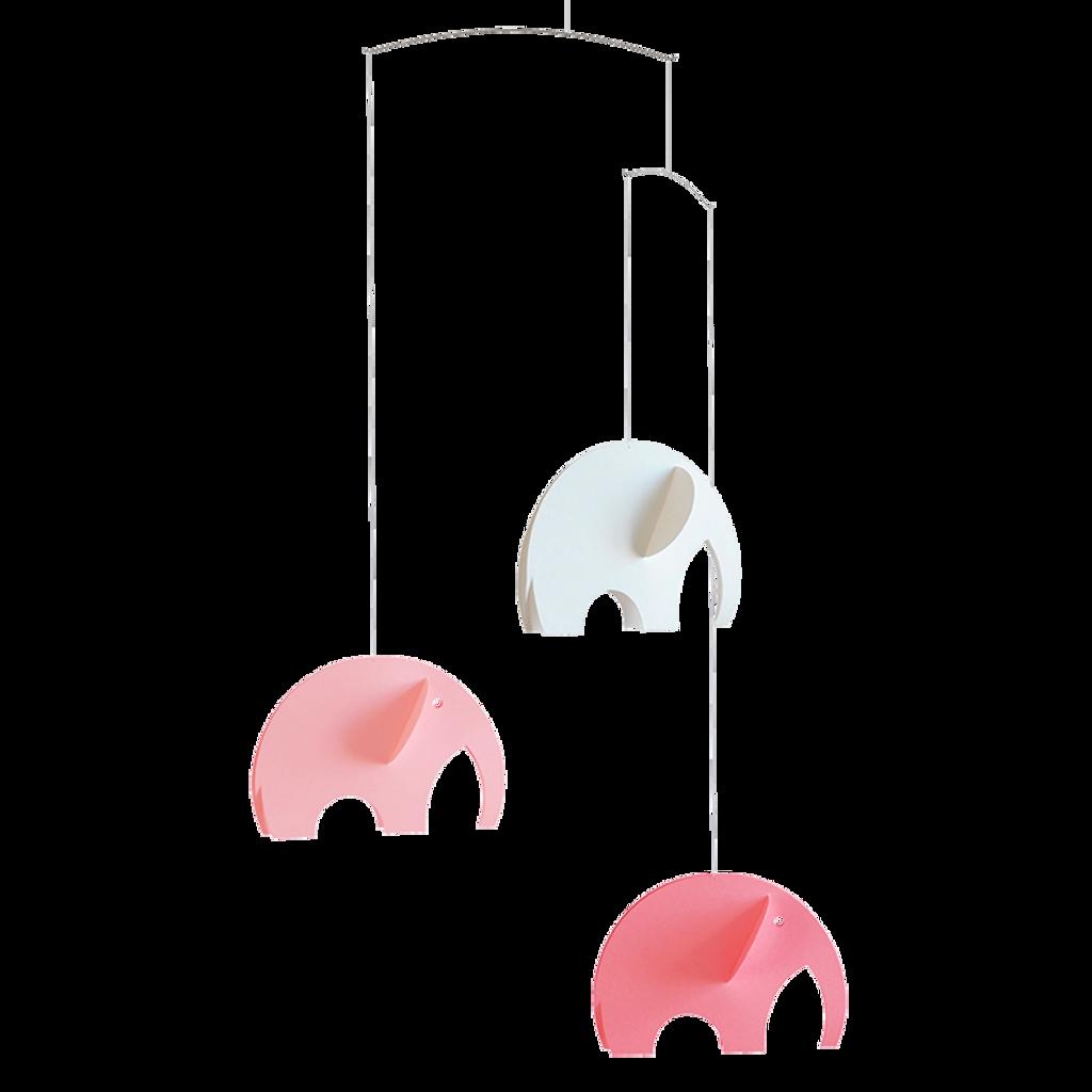 Flensted Mobiles  - Olephant Pink