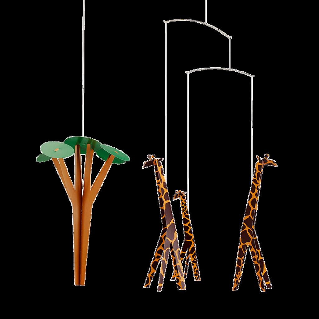 Flensted Mobiles  - Giraffes on the Savannah