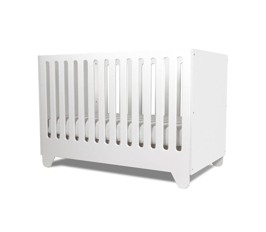 Hiya Crib shown in White